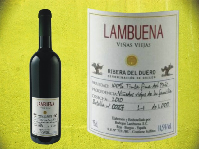 Lambuena Tinto Viñas Viejas