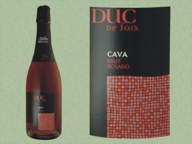 Cava Duc de Foix Brut Rosado